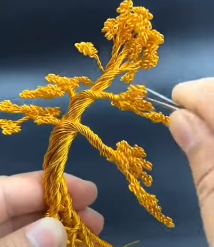 wire bonsai sculptures