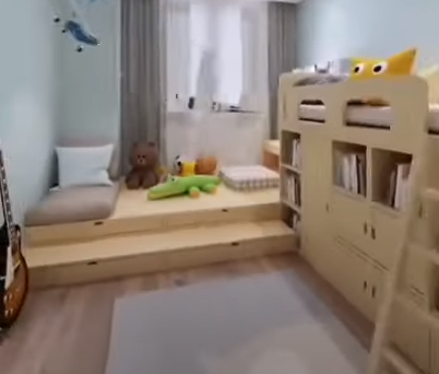 How can I decorate my kids room