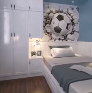 How do I decorate my kids room on a budget